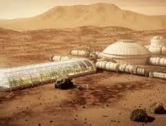 Mars colony