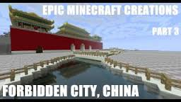 Forbidden city on Minecraft