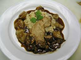 veal with risotto