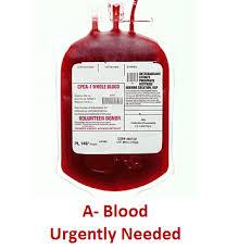 A negative blood