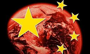 Chinese flag over all
