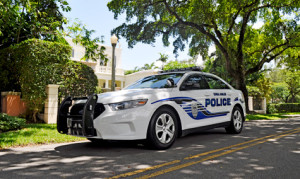 Coral Gables police car