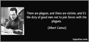 camus and plague