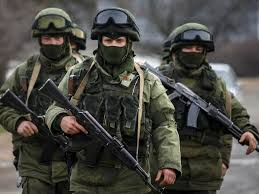 Russian Ukrainian army