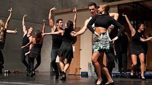 dancing cast