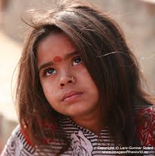 child with a bindi