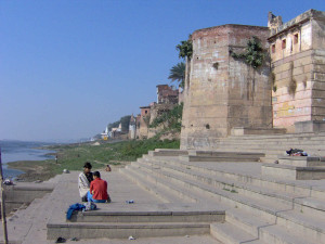 temple along the Ganges